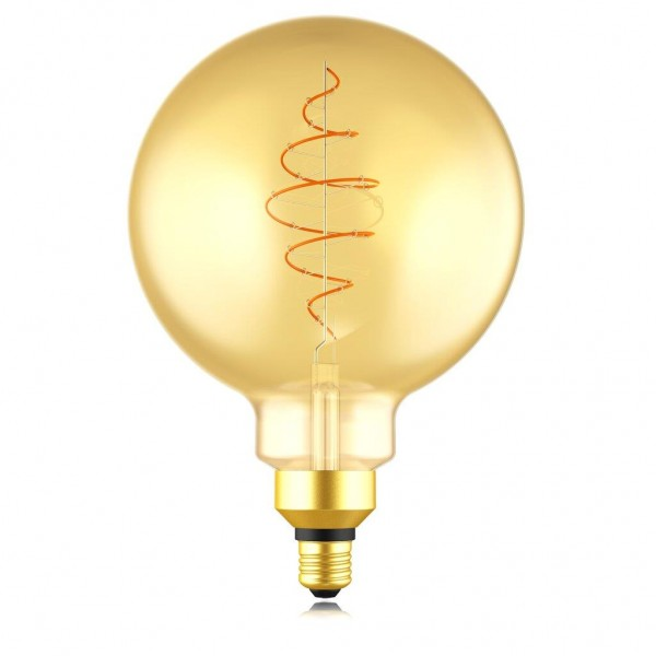 Nordlux 2080292758 Spiral DECO Globe E27 LED Gold Finish