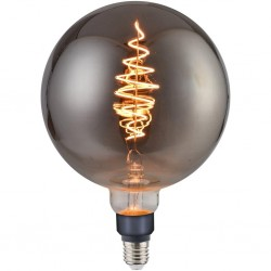 Nordlux 2080302747 Spiral DECO Globe E27 LED Smokey Finish