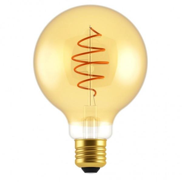 Nordlux 2080222758 DECO Globe Spiral E27 LED Gold Finish