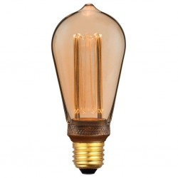Nordlux 2080082758 Retro DECO Edison E27 LED Gold Finish