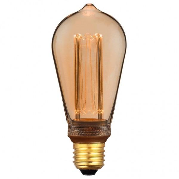Nordlux 2080082758 Retro DECO Edison E27 LED Gold Finish