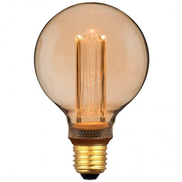 Nordlux 2080202758 Retro DECO Globe E27 LED Gold Finish