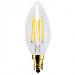 Segula Vintage Line 4W 2200K Dimmable E14 Clear Candle LED Bulb