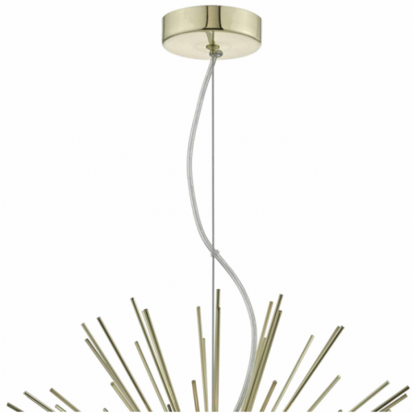 Dar Lighting SAG0635 6 light Pendant