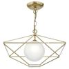 Dar Lighting ORS0135 Orsini 1 Light Pendant