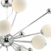 Dar Lighting URS2350 Chrome Ursa 10 Light Pendant