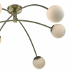 Dar Lighting PUG6475 Puglia 6 light Pendant