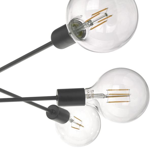 Dar Lighting ALA0646 Alana Chrome 6 Light Pendant