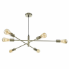 Dar Lighting ALA0675 Alana 6 Light Pendant