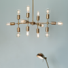 Dar Lighting COD1235 Code 12 Light Pendant