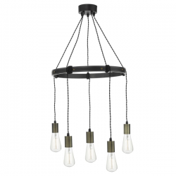 Dar Lighting IVA0531 Ivan 5 Light Pendant