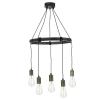 Dar Lighting IVA0531 Ivan 5 Light Pendant