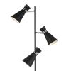 Dar Lighting ASH4922 Ashworth 3 Light Floor Lamp