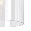 Dar Lighting Oviedo 1 Light Lantern Pendant Antique