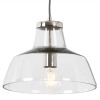 Dar Lighting PAV0138 Pavel 1 Light Polished Pendant
