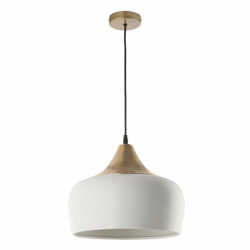 Dar Lighting AMI012 Amiel 1 Light Pendant