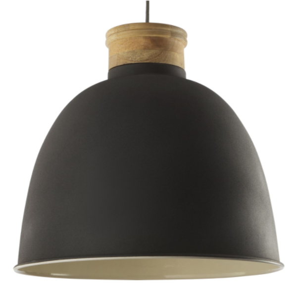 Dar Lighting APH8839 Aphra Pendant in Grey