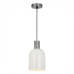 Dar Lighting HES0133 Hester 1 Light Pendant in Cream