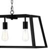 Dar Lighting ACA0522 Academy 5 light Pendant in Black