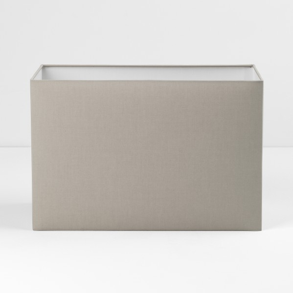 Astro Rectangle 400 Putty Fabric Shade