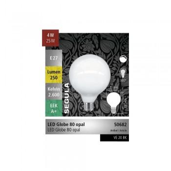 Segula 50682 Vintage Line 4W Dimmable E27 Opal Globe LED Bulb