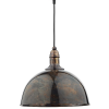 Dar Lighting YOK0163 Yoko 1 Light Pendant Mottled Bronze