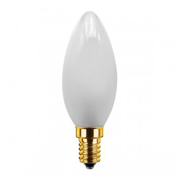 Segula 50200 Vintage Line 3.5W 2200K Dimmable E14 Frosted Candle LED Bulb