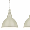 Dar Lighting BLY5343 Blyton 3 Light Bar Pendant complete with Painted Shades