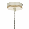 Dar Lighting BLY0143 Blyton 1 Light Pendant complete with Painted Shade