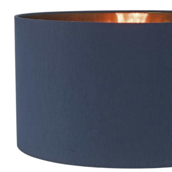 Dar Lighting TIM6523 Timon Easy Fit Blue & Copper