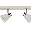 Dar Lighting FRY8433 Fry 4 Light Bar Cream