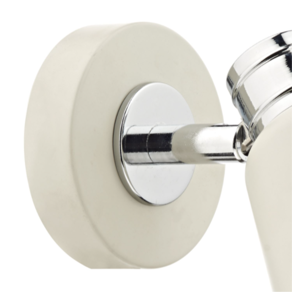 Dar Lighting FRY0733 Fry Single Wall Bracket Cream