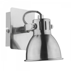 Dar Lighting IDA0746 Idaho Single Wall Bracket GU10 Natural Chrome