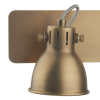 Dar Lighting IDA7775 Idaho 2 Light Bar Spot GU10 Natural Brass