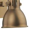 Dar Lighting IDA0775 Idaho Single Wall Bracket GU10 Natural Brass