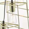 Dar Lighting TOW0635 Tower 6 Light Cluster Pendant Gold