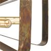 Dar Lighting YAV0564 Yavanna 5lt Pendant Oiled Copper