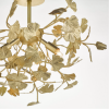 Dar Lighting YAD0435 Yadira 4lt Semi Flush Gold Effect