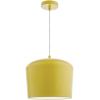 Dar Lighting LEN0126 Leno 1 Light Pendant Yellow