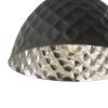Dar Lighting WAZ0139 Wazir Pendant Grey and Mango Wood