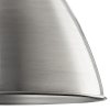 Dar Lighting VIM0161 Vimbai Pendant Zinc & Wood