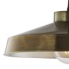 Dar Lighting KED8645 Kedric Pendant Large Aged Brass