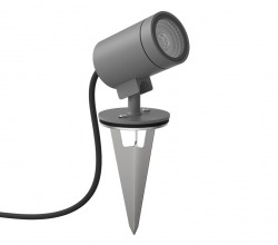 Astro Lighting 14010010Bayville Spike Spot in Textured Grey12 V LED