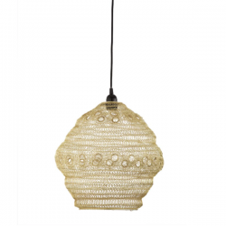 Dar Lighting API6535 Apiary Easy Fit Pendant Gold