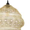 Dar Lighting API6535 Apiary Easy Fit Pendant Gold