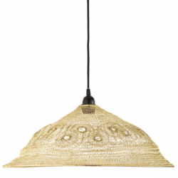 Dar Lighting KIK6535 Kiki Easy Fit Pendant Gold