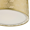 Dar Lighting TIN6535 Tino Easy Fit Gold With Shade
