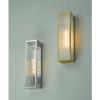 Dar Lighting KEE5041 Keegan 1 Light Wall Light Satin Brass IP44