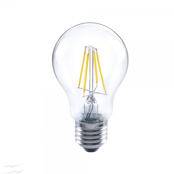 Integral LED 40-07-61 4.5W (40W) E27/ES Classic Globe GLS Filament LED Lamp Dimmable
