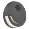 Dar Lighting EUB2137 Euba Outdoor Wall Light Grey C/W Speaker LED IP44